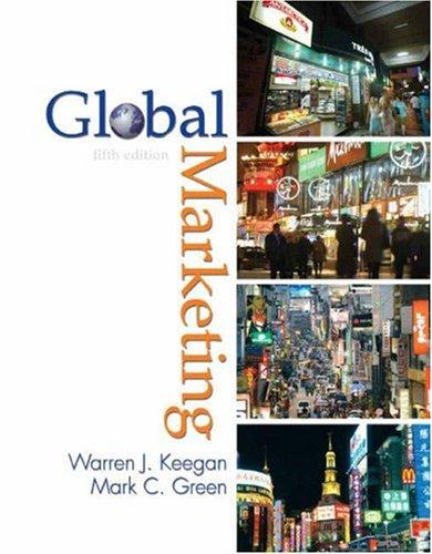 9780131754348: Global Marketing (5th Edition)