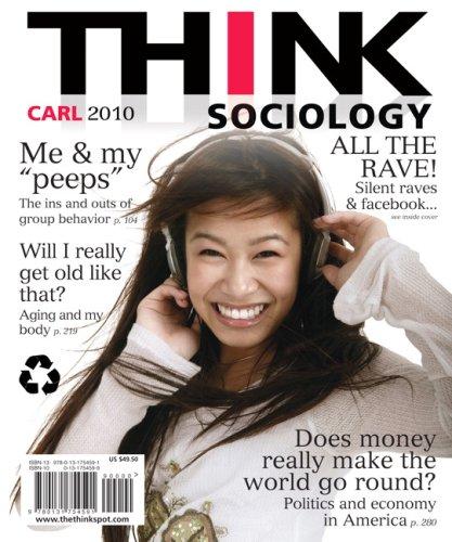 9780131754591: THINK Sociology