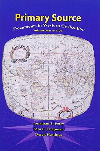 9780131755833: Primary Sources in Western Civilization, Volume 1 for Primary Sources in Western Civilization, Volume 1 (2nd Edition)