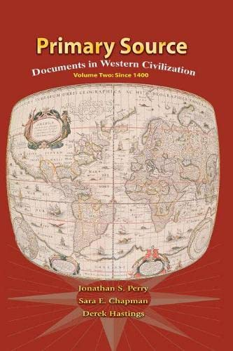 9780131755840: Primary Source: Documents in Western Civilization, Vol. 2: Since 1400