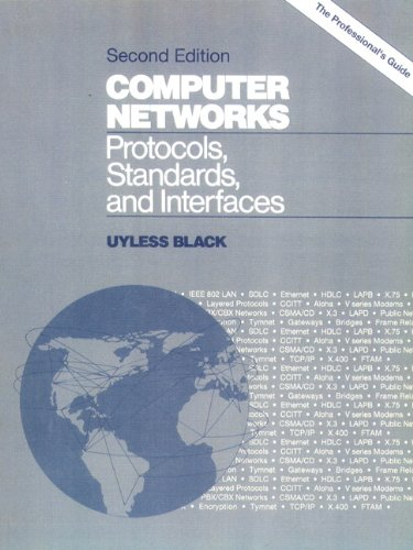 9780131756052: Computer Networks: Protocols, Standards and Interface (2nd Edition)