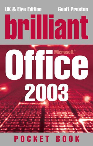 9780131757264: BRILLIANT OFFICE 2003 POCKETBOOK (BRILLIANT POCKET BOOK)