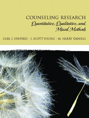 9780131757288: Counseling Research: Quantitative, Qualitative, and Mixed Methods