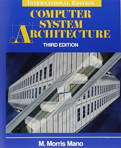 9780131757387: Computer System Architecture. M. Morris Mano