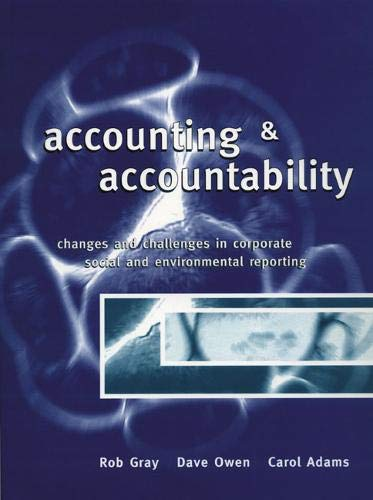 9780131758605: Accounting and Accountability