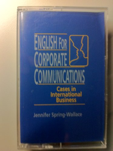 9780131759022: English for Corporate Communication: Cassette: Cases in International Business