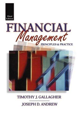 9780131768826: Financial Management: Principles & Practice