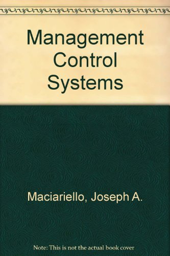 9780131768840: Management Control Systems
