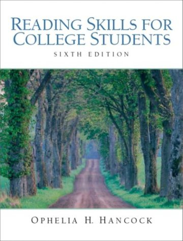 9780131772274: Reading Skills for College Students, Sixth Edition