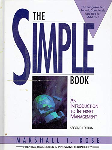 The Simple Book: Introduction To Internet Management: Marshall T Rose