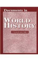 9780131773233: Documents in World History (vol-2),since 1500