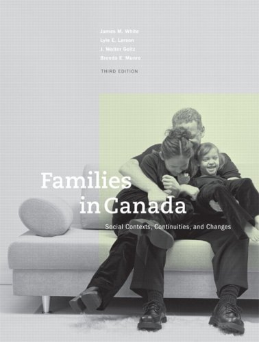 Families in Canada: James M. White,