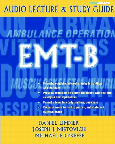 9780131777132: EMT-B: Audio Lecture and Study Guide (Brady' Review Series: Audio Lecture and Study Guide)