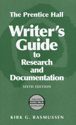 9780131779976: A Writer's Guide to Research and Documentation