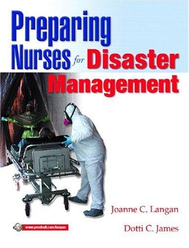 9780131780699: Preparing Nurses for Disaster Management