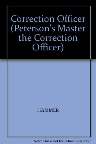 9780131784192: Correction Officer (Peterson's Master the Correction Officer)
