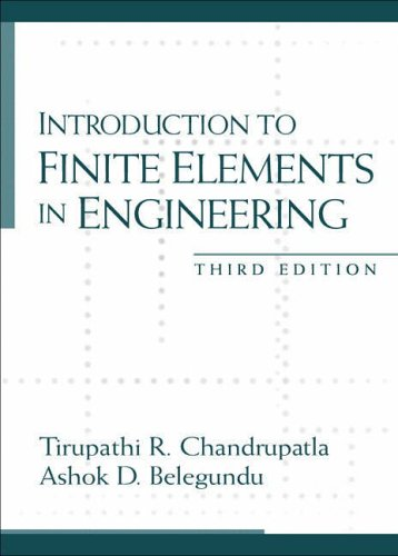 9780131784536: Introduction to Finite Elements in Engineering