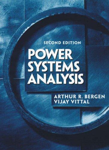 9780131784604: Power Systems Analysis: International Edition