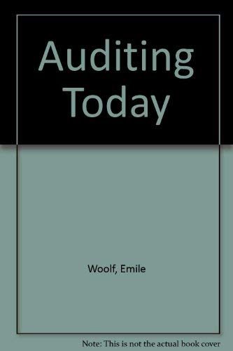 9780131785595: Auditing Today