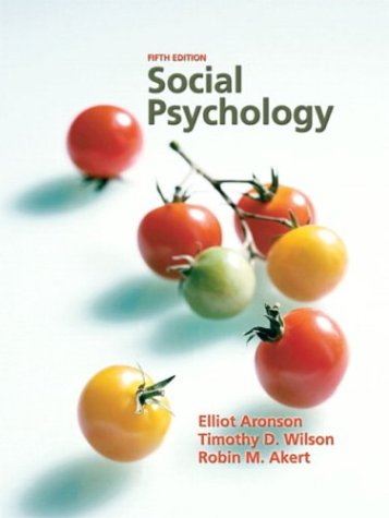 9780131786868: Social Psychology