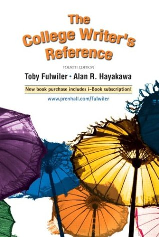 9780131787308: The College Writer's Reference