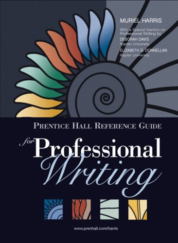 9780131789159: Prentice Hall Reference Guide for Professional Writing (Book Alone)