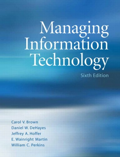 9780131789548: Managing Information Technology (6th Edition)