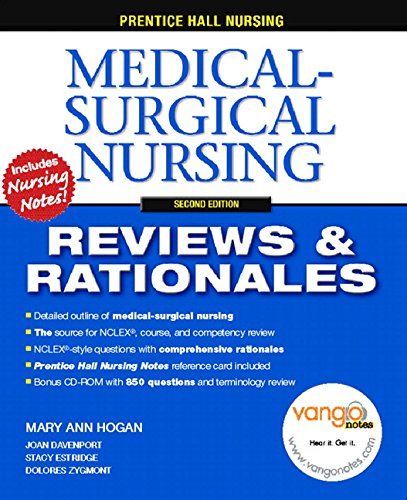 Prentice-Hall Nursing Reviews & Rationales: Medical-Surgical Nursing,: Mary Ann Hogan;