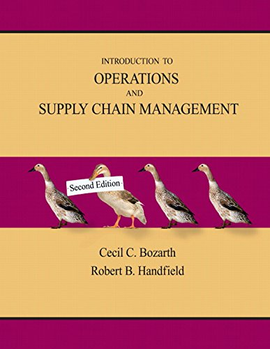 9780131791039: Introduction to Operations and Supply Chain Management (2nd Edition)