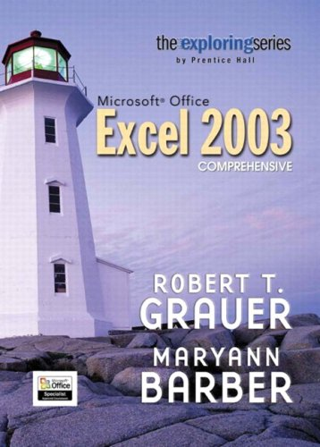 9780131791213: Exploring Microsoft Excel 2003 Comprehensive and Student Resource CD Package (Exploring Series)