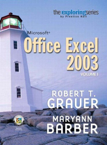 9780131791237: Exploring Microsoft Excel 2003, Vol. 1 and Student Resource CD Package (10th Edition)