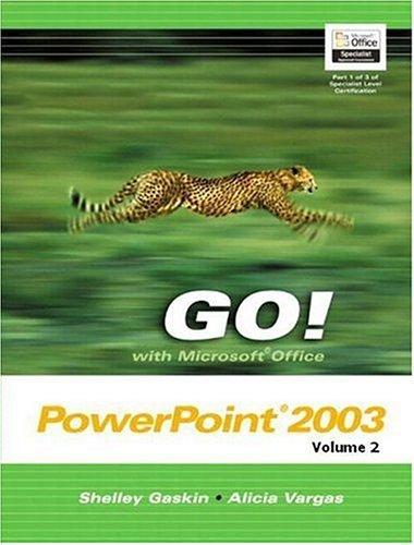 9780131791466: Go Microsoft Office Powerpoint + Student Cd: 2 (Go Series)