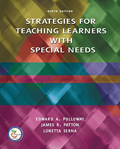 9780131791558: Strategies for Teaching Learners with Special Needs (9th Edition)