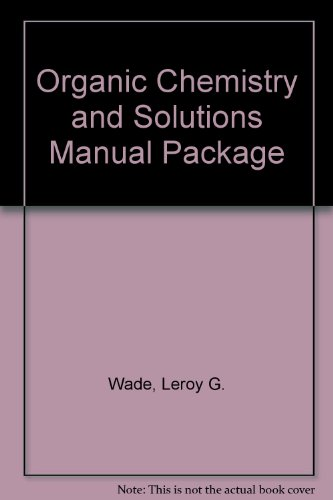 9780131794627: Organic Chemistry and Solutions Manual Package