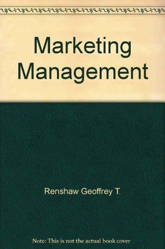 9780131802254: Marketing Management