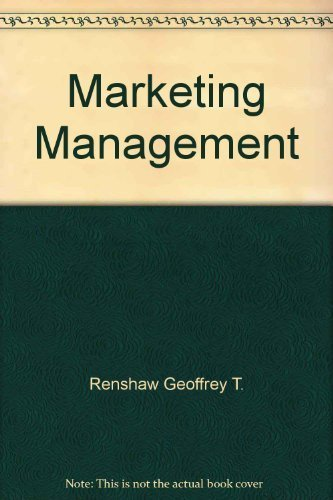 9780131802254: Marketing Management