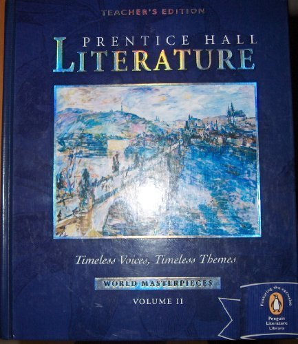 9780131802346: Timeless Voices, Timeless Themes (World Masterpieces) (Literature, Volume 2)