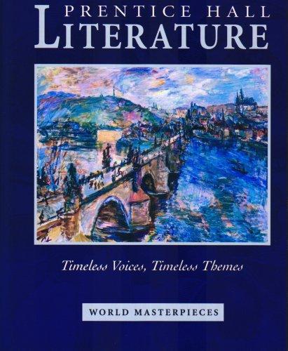 Prentice Hall Literature: World Masterpieces (Prentice Hall: Kate Kinsella, Kevin