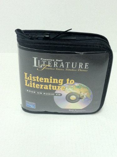 9780131802735: PRENTICE HALL WORLD MASTERPIECES LISTENING TO LITERATURE AUDIO CD 7TH ED2004