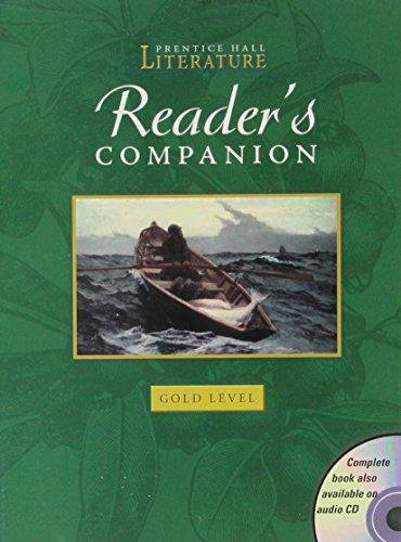 Readers Companion: Gold Level 9 (Prentice Hall
