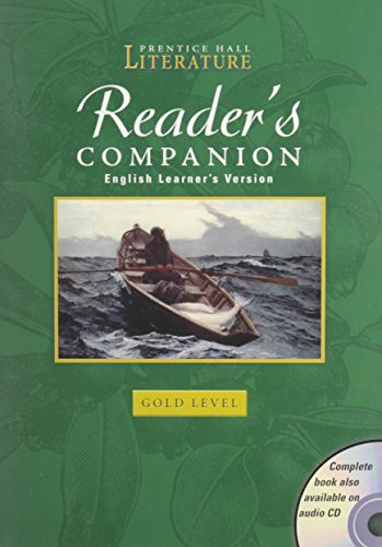 Reader's Companion, English Learner's Version: Gold Level: PRENTICE HALL
