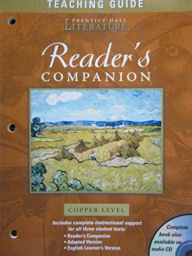 Teaching Guide Reader's Companion Prentice Hall Literature: PRENTICE HALL LITERATURE