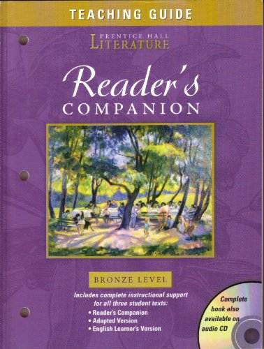 9780131803046: Timeless Voices, Timeless Themes, California Edition Grade 7 Bronze Level: Reader's Companion Teaching Guide