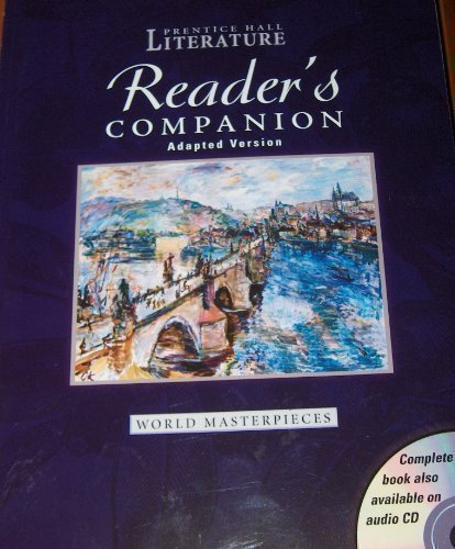 9780131803626: PRENTICE HALL WORLD MASTERPIECES ADAPTED READERS COMPANION GRADE 12 2004