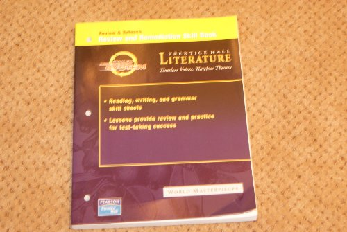 9780131803886: Review & Reteach Review & Remediation Skill Book - World Masterpieces (Prentice Hall Literature - Timeless Voices, Timeless Themes)