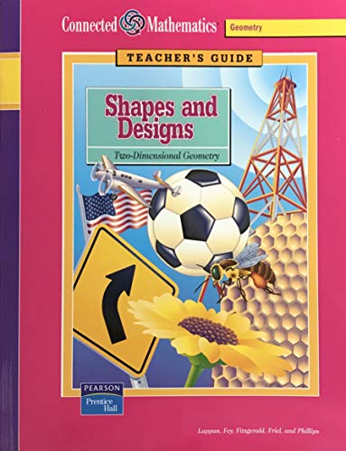 9780131807815: Shapes and Designs: Two-Dimensional Geometry (Teacher's Guide) (Connected Mathematics Grade 6)