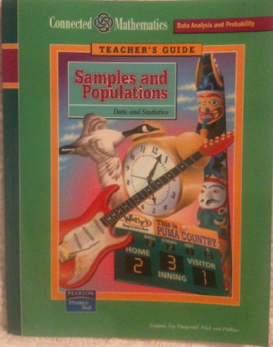9780131808058: Teacher's Guide: Samples and Populations (Connected Mathematics, Data and Statistics)