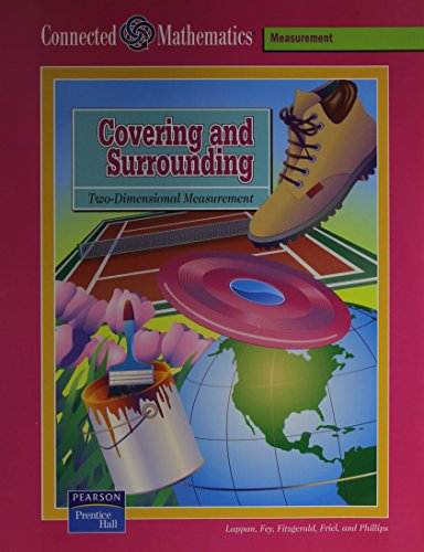 9780131808096: CONNECTED MATHEMATICS COVERING AND SURROUNDING STUDENT EDITION 2004 (Connected Mathematics: Measurement)