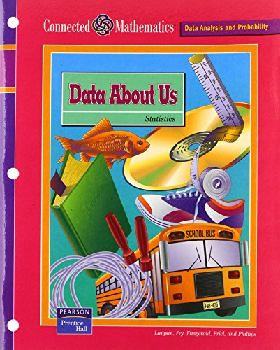 9780131808140: CONNECTED MATHEMATICS (CMP) DATA ABOUT US STUDENT EDITION (Connected Mathematics: Data Analysis and Probability)