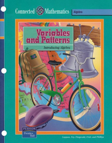 9780131808164: CONNECTED MATHEMATICS (CMP) VARIABLES AND PATTERNS STUDENT EDITION